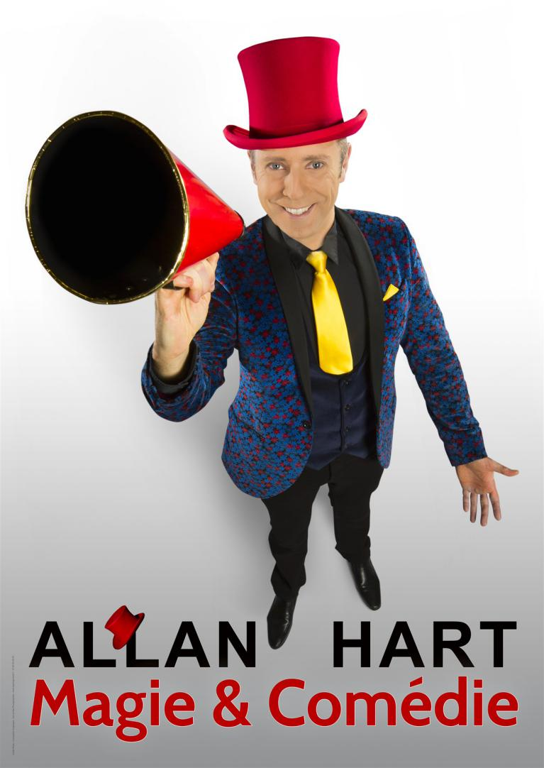 Allan Hart - One Man Magic Show - Stand Up